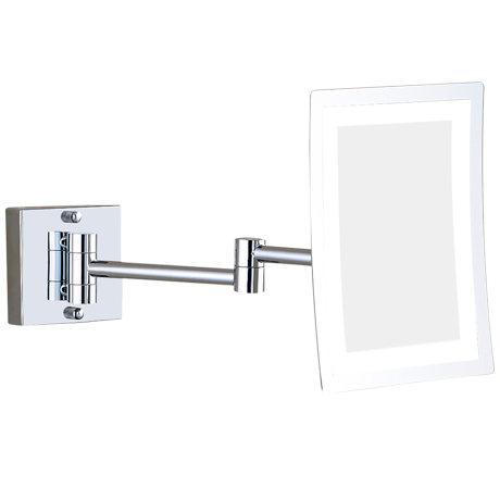 Square LED Wall Mirror