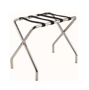 Chrome luggage rack without bar